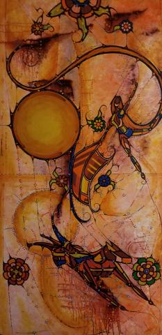 "Native American Art - ""A Great Journey"""